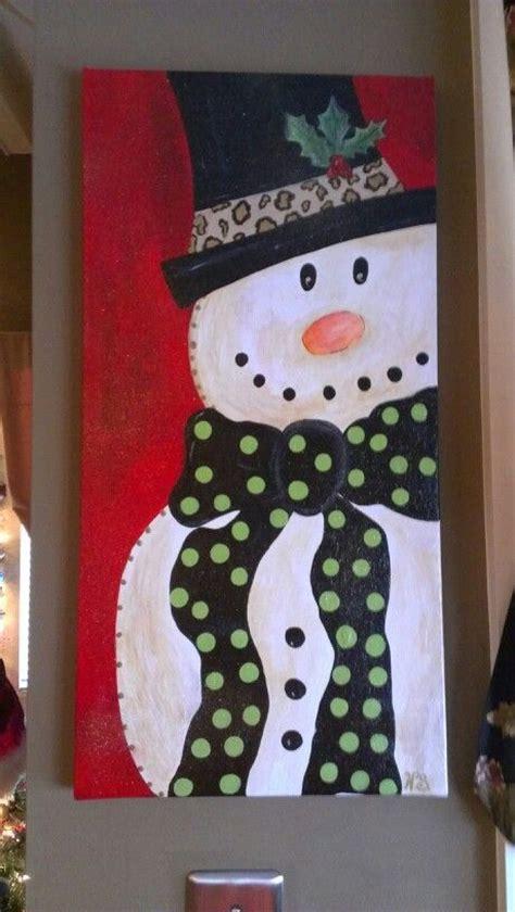 stunning christmas canvas paintings