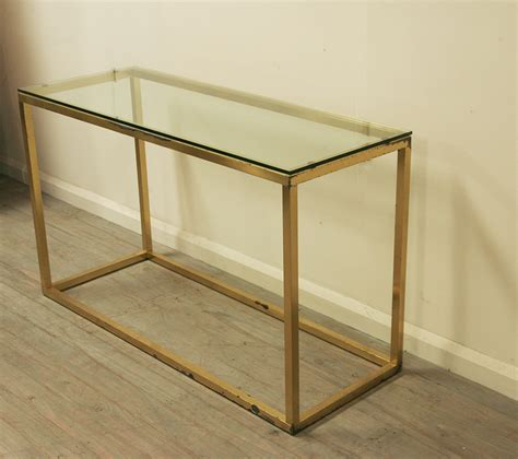 minimalist table minimalist brass console table haunt antiques for the