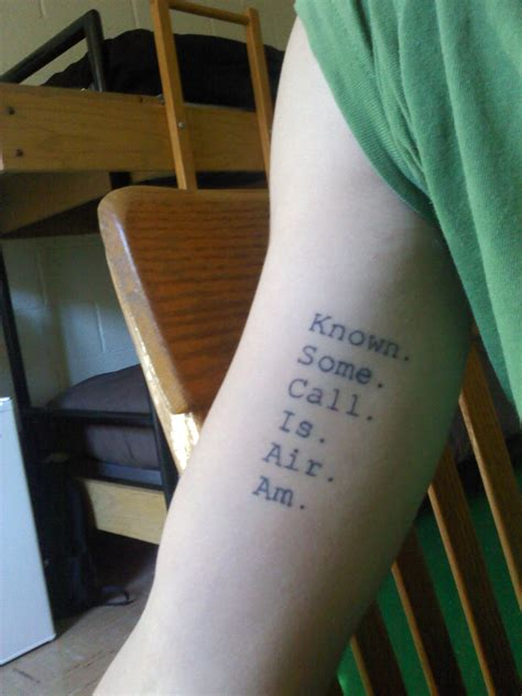 quotation mark tattoo meaning this is sam s from z danielewski s house of