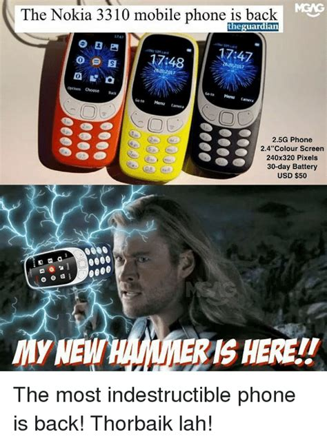 Mobile Phone Meme - funny nokia 3310 memes of 2017 on sizzle iphone 6 plus