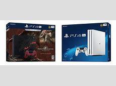 Limited Edition Monster Hunter: World PS4 Pro Bundle and ... Gamestop Ps4 Pro Bundle