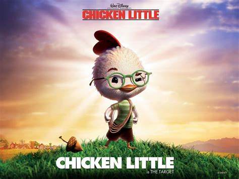 famous cartoon film quotes wallpapers chicken little wallpapers