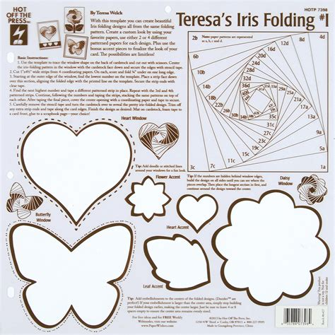 iris folding cards templates hot off the press templates teresa s iris folding 1 jo ann