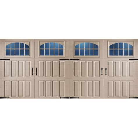 16 ft garage door prices shop pella carriage house series 16 ft x 7 ft insulated