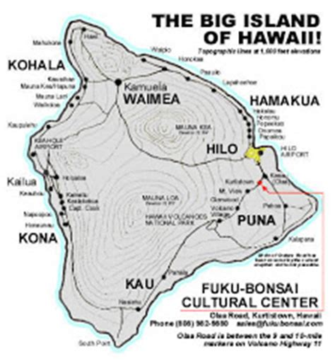 printable road map big island hawaii kilauea bibliography