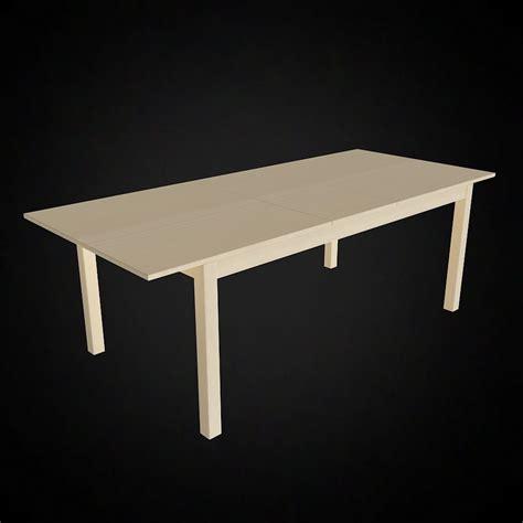 ikea bjursta dining table 3d bjursta table ikea high quality 3d models