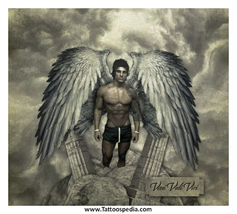 tattoo angel zyzz zyzz angel tattoo www pixshark com images galleries