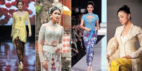 Dress Kerah Renda 4 model kebaya renda kerah modern vemale