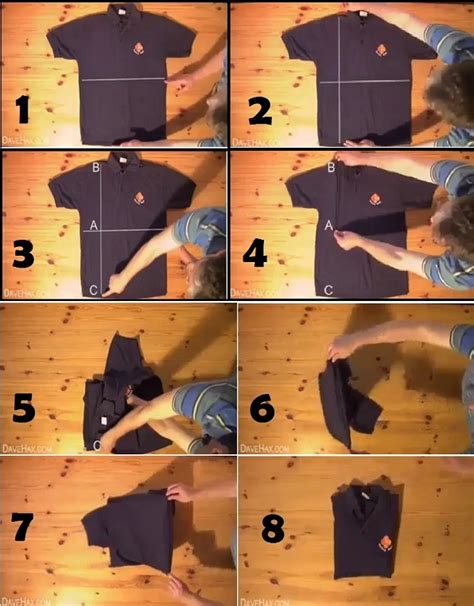 Fold Down Table Clothing Is There A Neater Way To Fold A Shirt