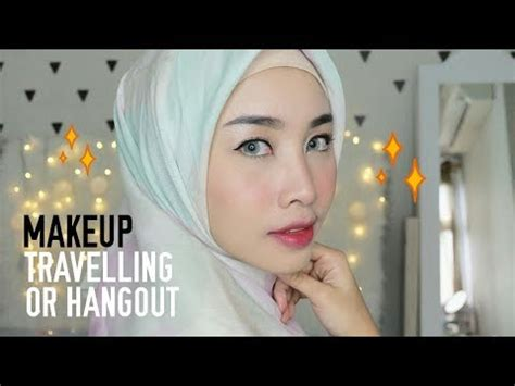 tutorial make up artis wardah make up tutorial for travelling lip color guide wardah