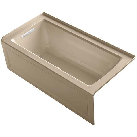 Archer Bathtub by Kohler Archer 5 Ft Walk In Whirlpool And Air Bath Tub In