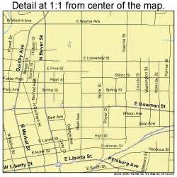 Wooster Ohio Map by Wooster Ohio Street Map 3986548