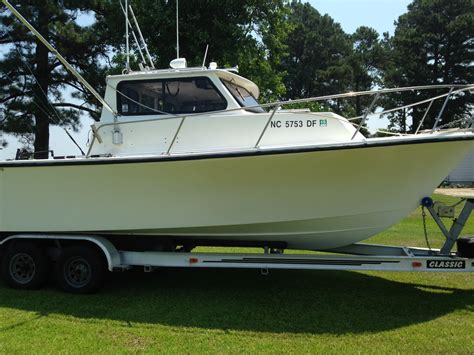 fishing boats for sale 25 ft 25 ft downeaster pilothouse sold the hull truth