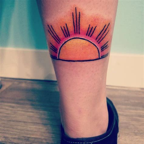 sunrise tattoo the 25 best ideas on mountain