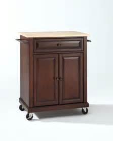 top portable kitchen cart island vintage mahogany efurniture mart mainstays multiple finishes walmart