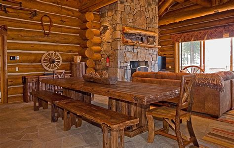 incline upscale rustic rental log home