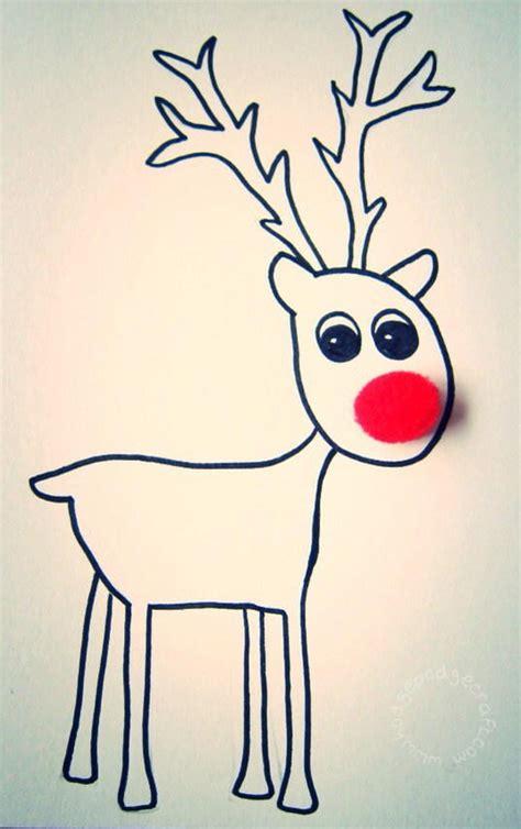 reindeer cards to make free printable reindeer cards favecrafts