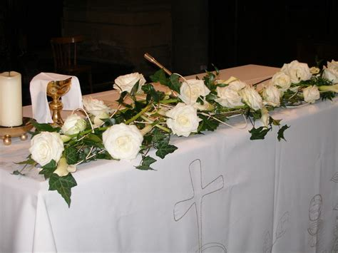 Decoration Mariage Fleur by Fleurs Mariage D 233 Coration D Eglise Vatry Fleuriste