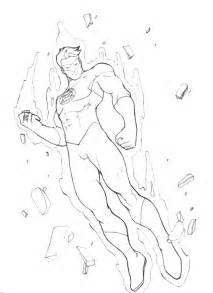 coloring dc free printable green lantern coloring pages for