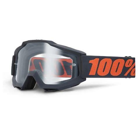 100 motocross goggles 100 accuri otg goggles revzilla