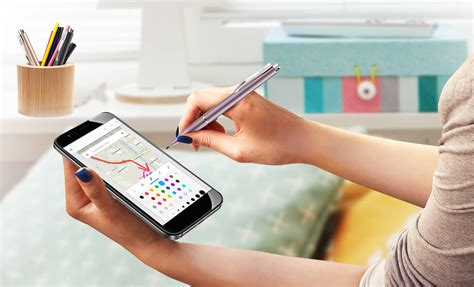 Genius Pen For Ios Grey genius pen incredibly smooth stylus pen for android and