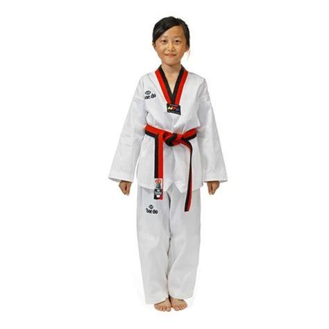 Empro Dobok Taekwondo Pemula 130 140 150 160 taekwondo dobok poom sport4pro