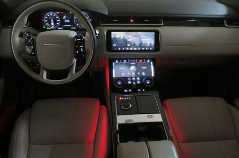 velar land rover interior 11 2018 range rover velar surprises and delights motor trend