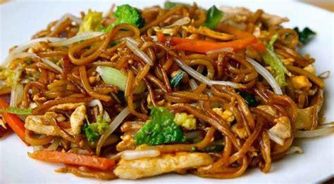 cuisine wok facile wok de poulet aux l 233 gumes et nouilles recette weight