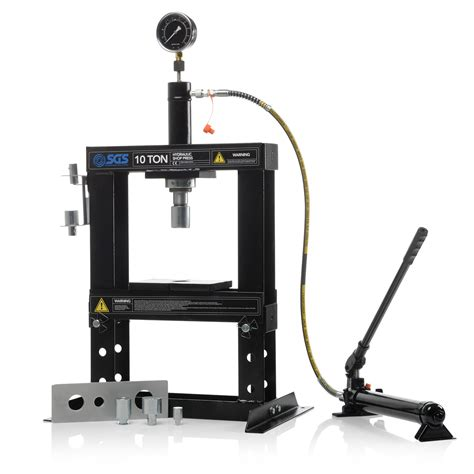 bench mandrels 10 tonne workshop bench hydraulic press with mandrels ebay