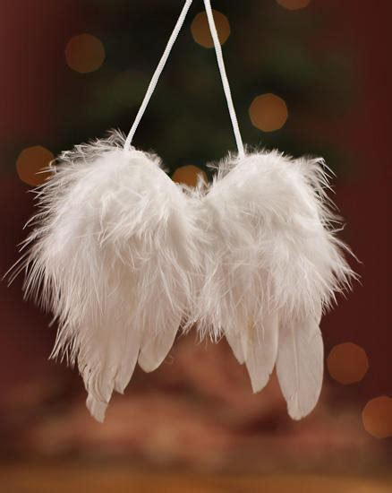 fluffy winter white angel wings feather tree easter christmas