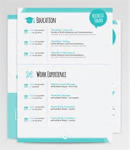 creative resume templates word sle
