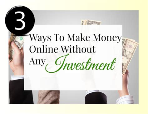 Make Money Online With No Investment - make money online with ruth
