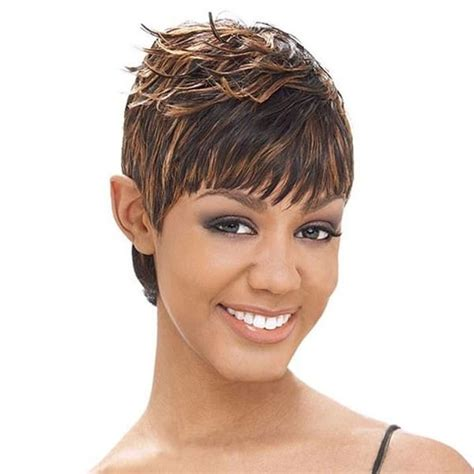 black short hairstyles using milkyway yaky perm milky way short cut human hair weaving sg 27 pieces