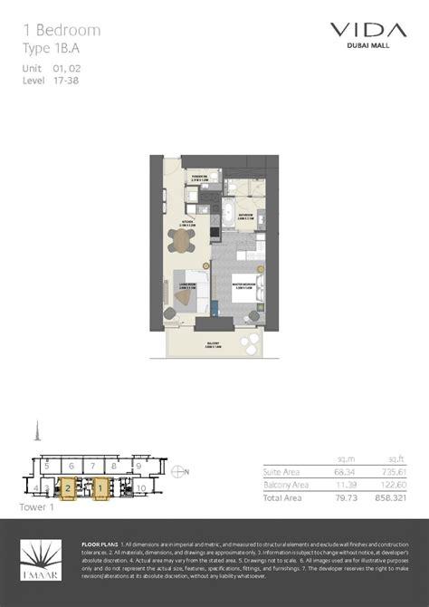 dubai mall floor plan vida residences at dubai mall arab vision