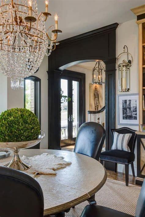 Black Interior House by 25 Best Ideas About Black Trim On Black Trim