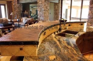 custom copper countertop kitchen countertops los