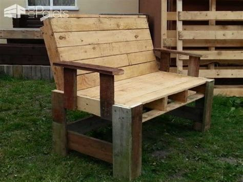 garden bench from pallets two seater garden bench from pallets 1001 pallets