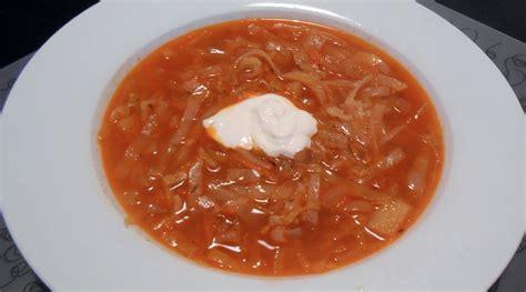 russian cabbage soup recipe dishmaps