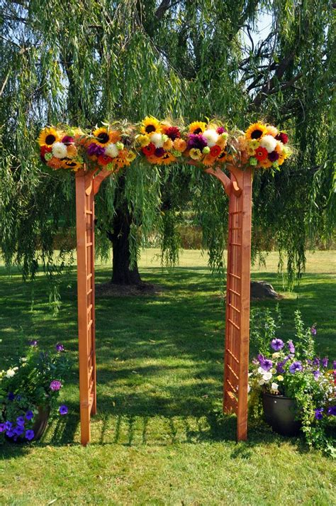 Wedding Arch With Sunflowers by 112 Best Images About Ceremony Ideas On Arbors