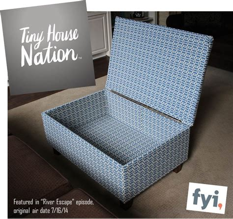ottomane selber bauen diy ottoman featured on tiny house nation the style files