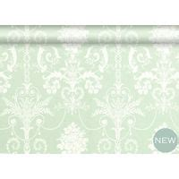 josette wallpaper green lilac floral white eau de nil wallpaper wallpaper