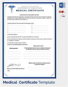 sample medical certificate 27 download documents in pdf