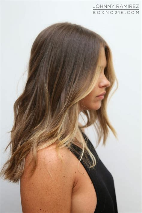 only front highlights long highlighted hairstyles fade haircut