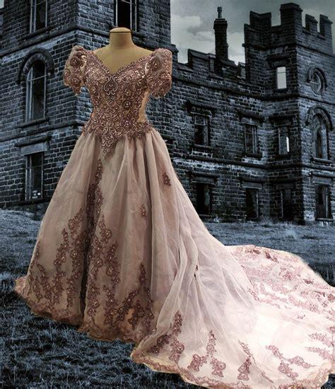 ghost wedding dress azac upcycled steunk bustle ghost wedding dress m