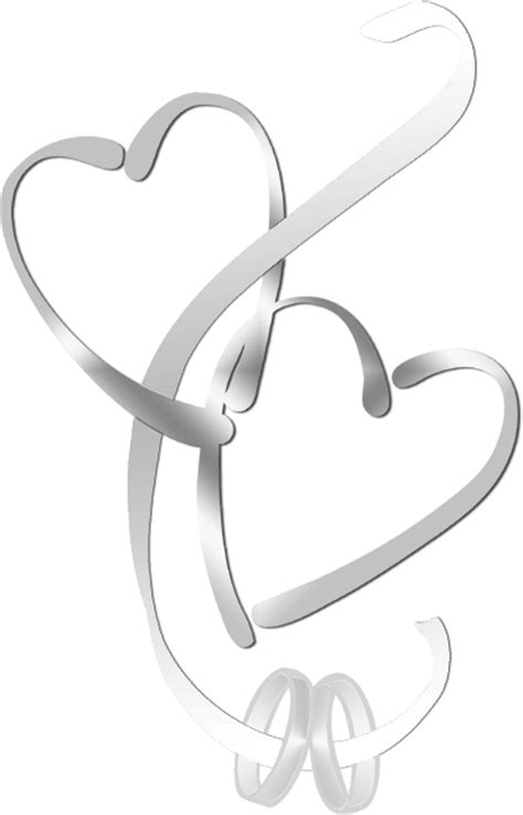 Wedding Hearts Clip by Two Hearts Design Designs Clipart