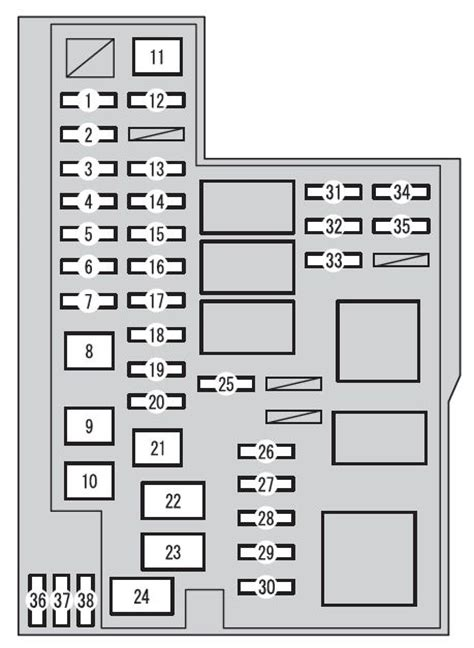 1998 rav4 fuse box diagram 26 wiring diagram images
