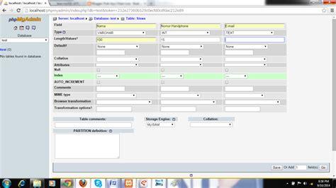 bagaimana cara membuat database dengan mysql xp bagaimana cara membuat database mysql di phpmyadmin dengan