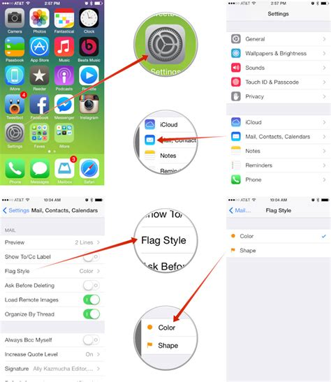 how to change message color on iphone how to customize the style of message flags on your iphone