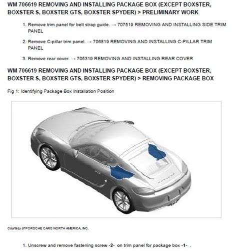 free download parts manuals 2013 porsche boxster security system porsche boxster 981 2013 2014 2 7 3 4 worksho
