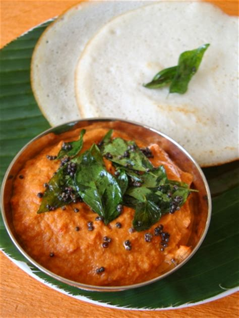 Sailus Kitchen by Tomato Nuvvula Pachadi Tomato Sesame Chutney Indian